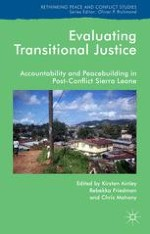 Transitional Justice in Sierra Leone: Theory, History and Evaluation