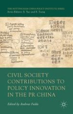 Civil Society Contributions to Policy Innovation in the PRC