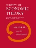 The Theory of Economic Growth: A Survey