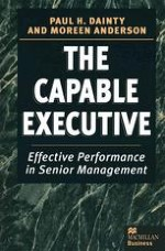 The Capable Executive: What the Executive Role Involves and What it Takes to Succeed
