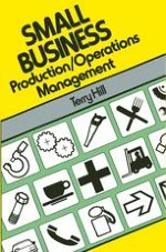 Production/Operations Management in a Small Business