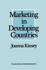 The marketing concept and developing countries