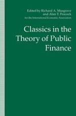 Three Extracts on Public Finance
