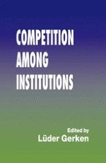 Institutional Competition: An Orientative Framework