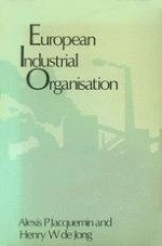 Industrial Organisation in a European Perspective