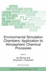 Overview on the Development of Chambers for the Study of Atmospheric Chemical Processes
