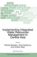 INTEGRATED WATER RESOURCES MANAGEMENT: THEORY AND PRACTICE