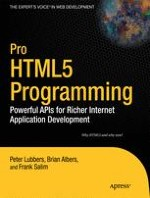 Overview of HTML5