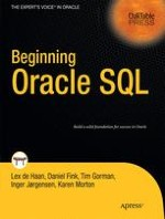 Relational Database Systems and Oracle