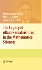Contributions of Alladi Ramakrishnan to the Mathematical Sciences