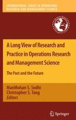 Introduction: A Long View of Research and Practice in Operations Research and Management Science