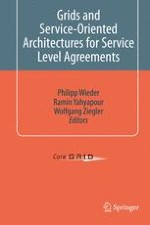 Monitoring Service Level Agreements in Grids with support of a Grid Benchmarking Service