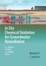 In Situ Chemical Oxidation: Technology Description and Status