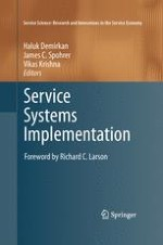 Introduction of Service Systems Implementation