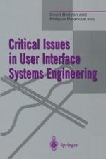 Critical Issues In User Interface Systems Engineering Springerprofessional De