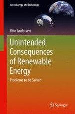 Introduction: What are Unintended Consequences of Renewable Energy and How Can They be Predicted?
