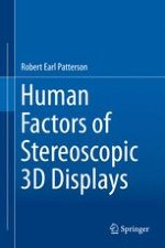 Introduction to Human Factors of Stereoscopic 3D Displays