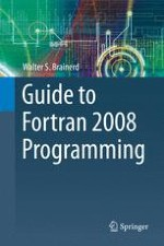 Introduction to Programming in Fortran