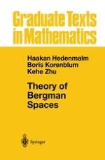 The Bergman Spaces