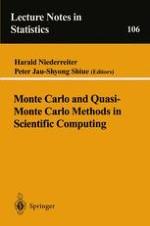 Modified Monte Carlo Methods Using Quasi-Random Sequences