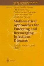 New Directions in the Mathematics of Infectious Disease