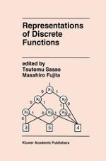 Graph-Based Representations of Discrete Functions