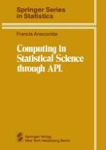 Statistical Computing