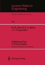 Basic Mechanics of Oil Reservoir Flows