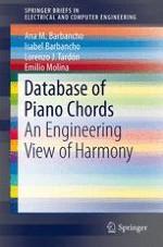 Database of Piano Chords | springerprofessional de