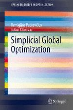 Simplicial Partitions in Global Optimization