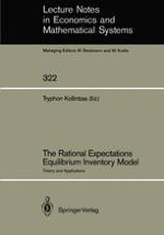 The Linear Rational Expectations Equilibrium Inventory Model: An Introduction