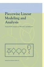 The State Model of a Piecewise Linear Network