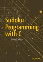 Modeling a Sudoku Puzzle in C