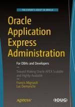 Oracle Application Express Administration | springerprofessional de
