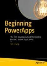 Beginning PowerApps   springerprofessional de