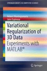 Variational Regularization of 3D Data | springerprofessional de