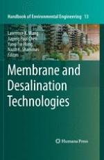 Membrane and Desalination Technologies   springerprofessional de