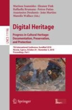 Visualization of the Past-to-Recent Changes in Cultural Heritage Based on 3D Digitization