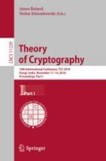 Provable Time-Memory Trade-Offs: Symmetric Cryptography Against Memory-Bounded Adversaries
