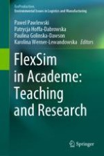 FlexSim Use in Didactics, Thesis, and Research in the Context of Competences for the Industry 4.0