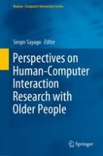 Editorial Introduction—Perspectives on HCI Research with Older People