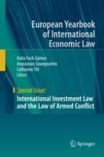 War and Peace in International Investment Law