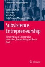 Subsistence Entrepreneurship: The Role of Collaborative Innovation, Sustainability and Social Goals