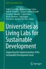 Living Labs for Sustainable Development: The Role of the European School of Sustainability Sciences and Research
