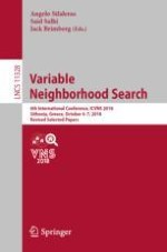 Improved Variable Neighbourhood Search Heuristic for Quartet Clustering