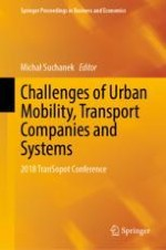 Determinants of Public Transport Integration in Cities and in the Region at the Example of Pomorskie Voivodeship