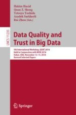 A Novel Data Quality Metric for Minimality