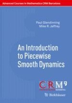 Piecewise-smooth Flows