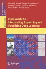 Towards Explainable Artificial Intelligence