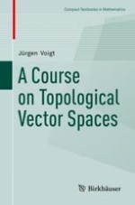 Initial Topology, Topological Vector Spaces, Weak Topology